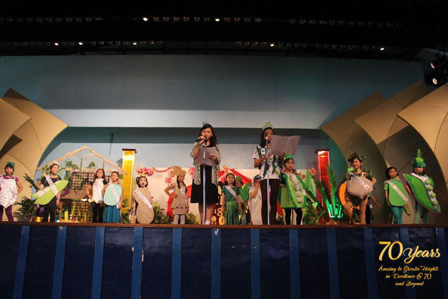 Culminating Activity for Nutrition Month   St  Theresa